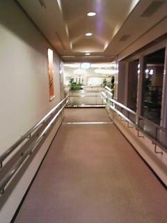 ホテル 渡り廊下