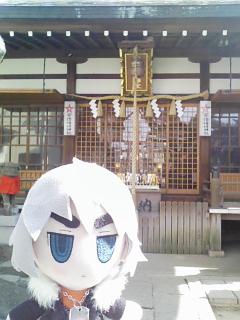 蒼龍「やっと行ったな、晴明神社」