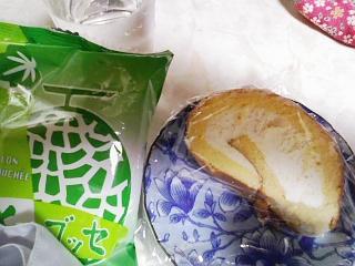 メロンブッセ&ロールケーキ
