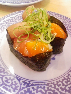寿司・鮪のユッケ