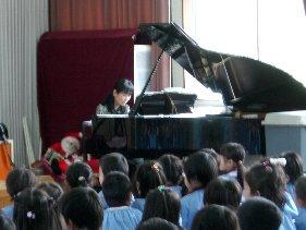 ピアノ演奏の鑑賞