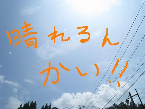 結局晴れかい! 2010.07.06
