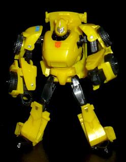 オートボット バンブルビー Then ロボットモード