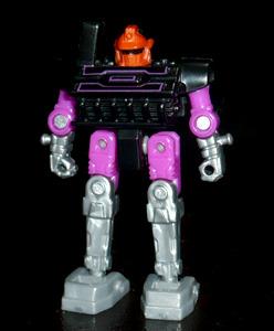 ロボウィール ネガボット ダブルバレルブラスター ロボットモード