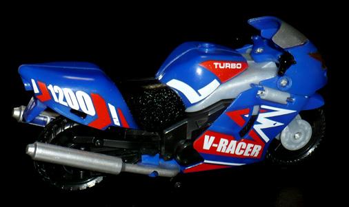 高速戦士 モトバトロン レーサータイプ オートバイモード
