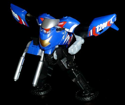 高速戦士 モトバトロン レーサータイプ ロボットモード