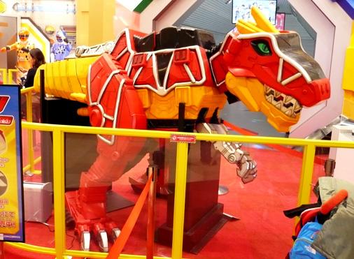 ナムコアクションミュージアム 東映ヒーローワールド 獣電竜ガブティラ