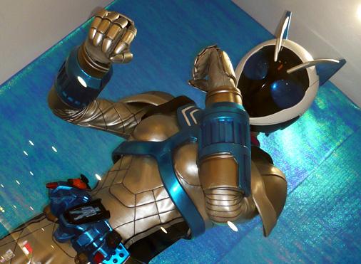 ナムコアクションミュージアム 東映ヒーローワールド 仮面ライダーなでしこ