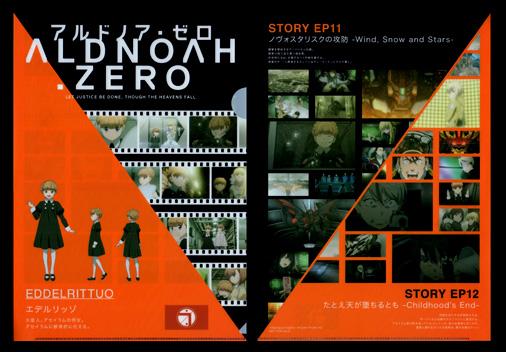 サンクス×ALDNOAH.ZERO フェア オリジナルクリアファイル エデルリッゾ