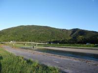 五十鈴川と御側橋