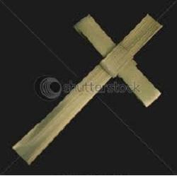 Palm Leaf Cross