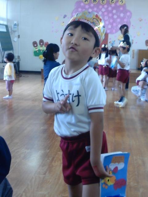 6才幼稚園お誕生日会