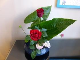 Tさんお花