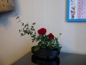 Mさんお花