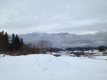 小淵沢雪景色