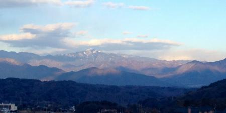 ベルガから瑞垣山