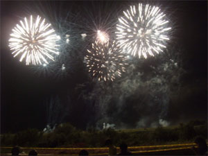 神明の花火3