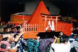 吉田の火祭り3