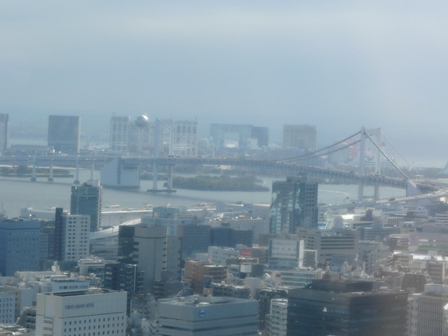 東京タワー 大展望台からの眺望 5