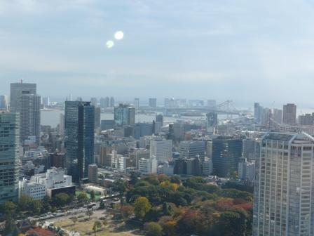 東京タワー 大展望台からの眺望 4