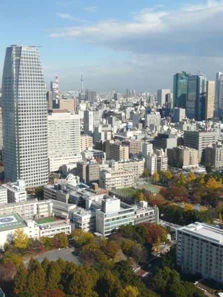 東京タワー 大展望台からの眺望 1