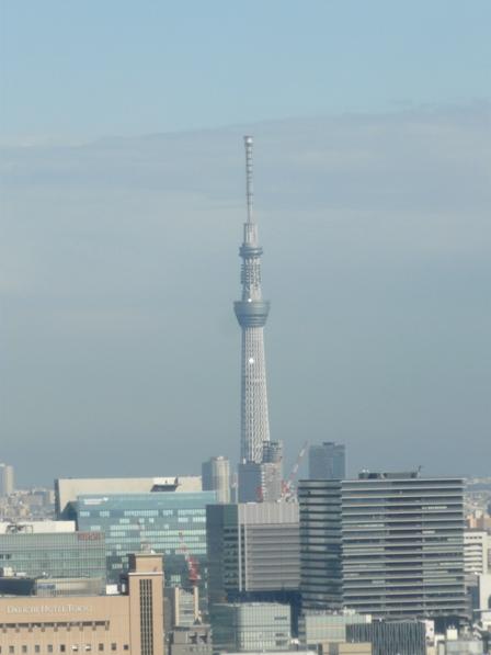 東京タワー 大展望台からの眺望 2