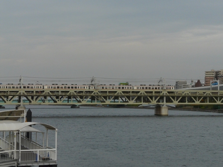浅草・吾妻橋付近 東武スカイツリーライン 1