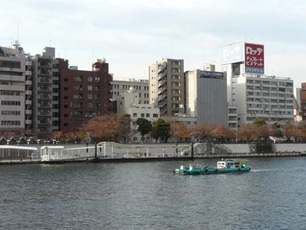 浅草・吾妻橋付近