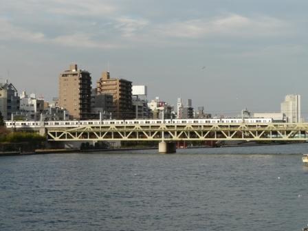 浅草・吾妻橋付近 東武スカイツリーライン 3