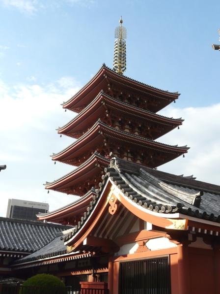 浅草寺 五重塔 1