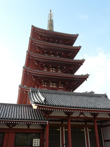 浅草寺 五重塔 2