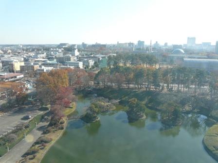 つくば 松見公園 展望塔からの眺め 3