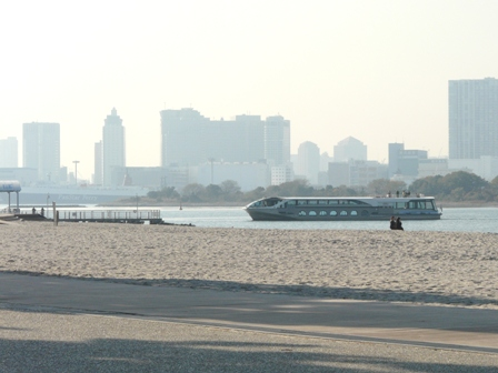 お台場海浜公園 水上バス