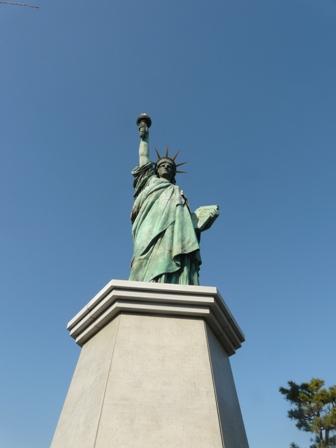 お台場海浜公園 自由の女神像