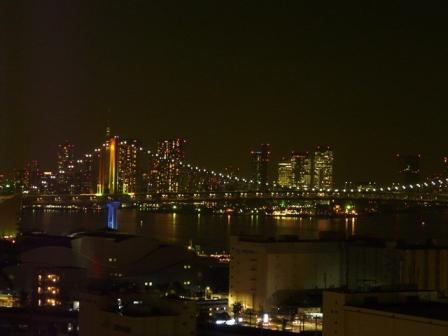 ホテルからの夜景 7