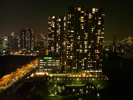 ホテルからの夜景 9