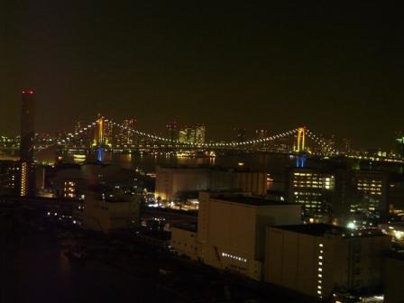 ホテルからの夜景 11