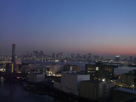 ホテルからの朝景 4