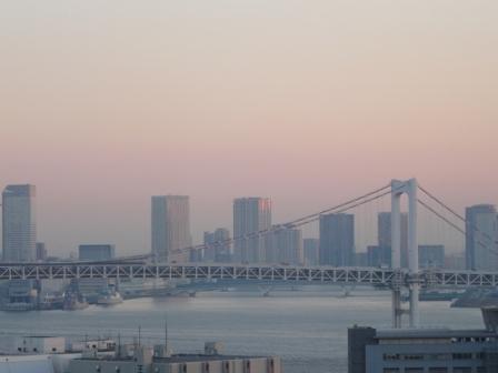 ホテルからの朝景 8