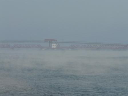 大和橋付近 肱川あらし 3