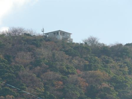 赤橋から 肱川あらし展望公園・展望台