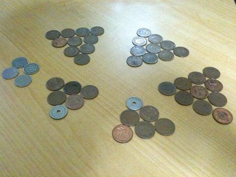 10円だらけのつり銭
