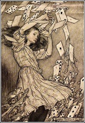Alice in Wonderland by Arthur Rackham,1907