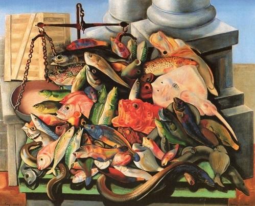 Moïse Kisling Le bouillabaisse(ブイヤベース)1932、村内美術館