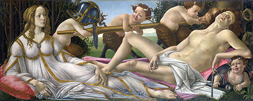 Botticelli,Venus and Mars,1483