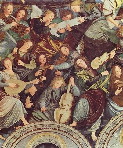 1534-36,403,Gaudenzio_Ferrari_Concerto degli Angeli, affresco, 1534-36; Santuario della Madonna dei Miracoli, Saronno