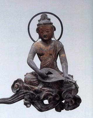 平等院、雲中供養菩薩像