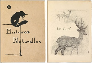 ルナール「博物誌」、ロートレックによる表紙・挿絵,1899