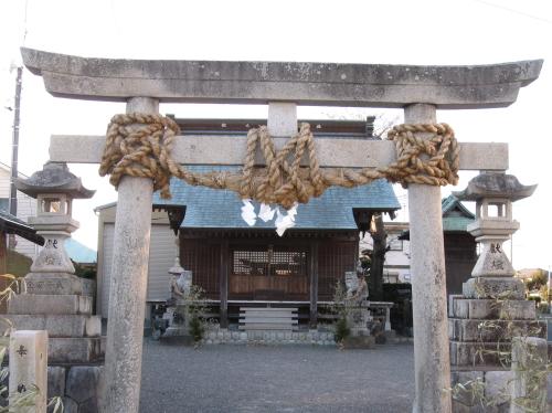 松之浦神社 注連縄