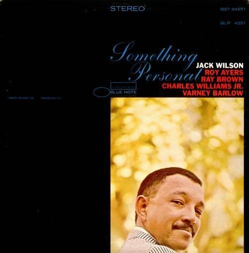 Jack Wilson Something Personal Blue Note BST 84251